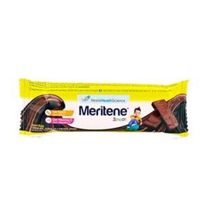 Meritene Junior barritas cereales sabor chocolate 30uds
