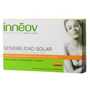 Innéov sensibilidad solar 30cáps