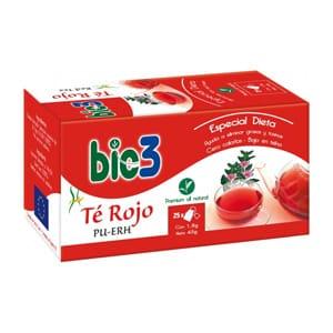 Bie 3 te rojo ecológico 25 bolsitas