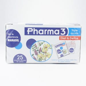 Pharma3 Diet & Detox 25 infusiones