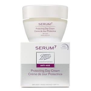 Serum7 crema protectora de día piel seca SPF15 50ml
