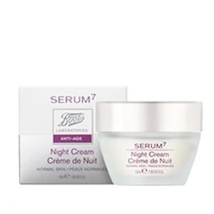 Serum7 crema regeneradora de noche piel normal/mixta 50ml