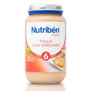 Nutribén Potito pollo y verduras 250gr