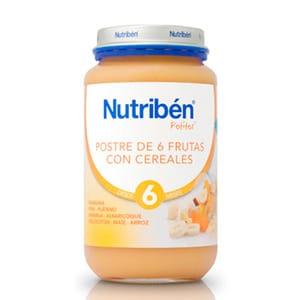 Nutribén Potito 6 frutas y cereales 250gr