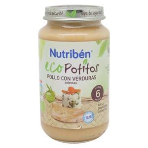 Nutribén Eco Potito pollo con verduras 250gr