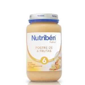 Nutribén postre de 6 frutas 250gr