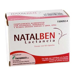 Natalben Lactancia 60cáps