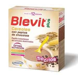 Blevit Plus cereales y pepitas chocolate 600gr