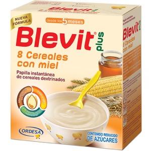 Blevit Plus 8 cereales con miel 600gr