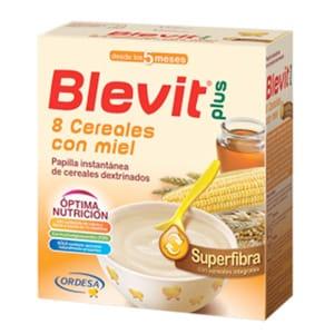 Blevit plus superfibra 8 cereales y miel 300gr