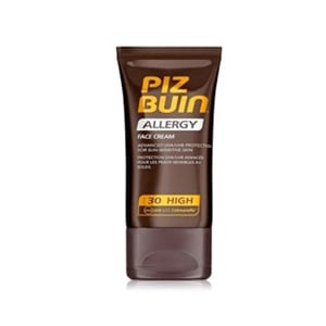 Piz Buin Allergy Crema Facial Piel Sensible SPF30+, 50ml