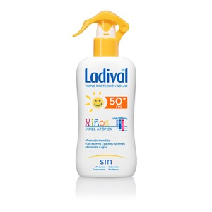 Ladival niños fotoprotector spray SPF50+ 200ml