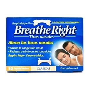 Breathe Right tiras nasales pequeñas 30uds