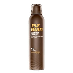 Piz Buin instant glow spray piel luminosa SPF15+ 150ml
