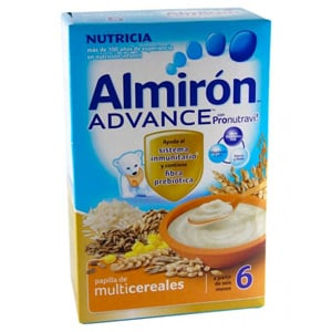 Almirón Advance multicereales 500gr
