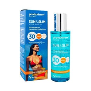Protextrem Sun & Slim Spray Oil Natural Invisible Fluid SPF30+ mate 50ml