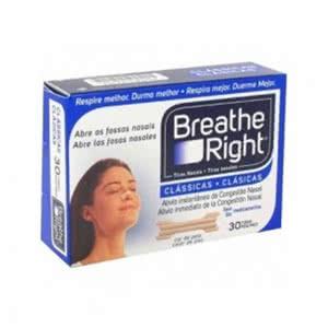 Breathe Right tiras nasales medianas-grandes 30uds