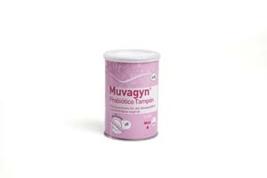 Muvagyn tampón probiótico vaginal mini 9 uds