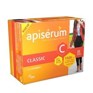 Apisérum Classic con jalea real fresca 20 viales bebibles