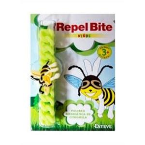 Repel Bite Niños pulsera repelente de insectos con citronela