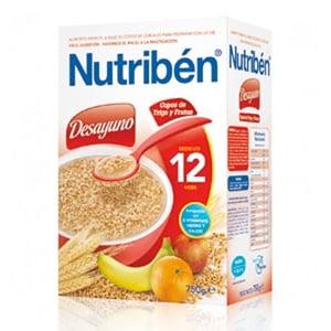 Nutribén desayuno copos de trigo +12m 750gr