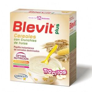 Blevit Plus cereales con crunchies de frutas 600gr