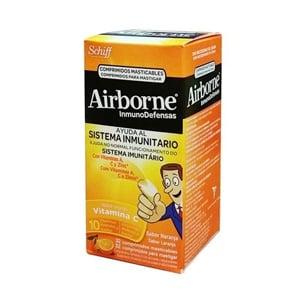 Airborne InmunoDefensas 32 comp masticables naranja
