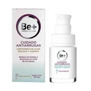 Be+ cuidado antiarrugas contorno de ojos bolsas y ojeras 15ml