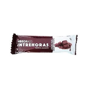 Obegrass barritas entrehoras chocolate negro