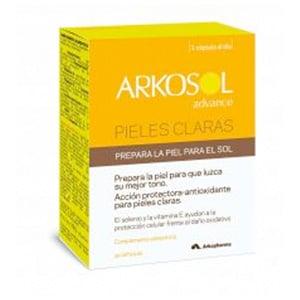 Arkopharma pieles claras 30cáps