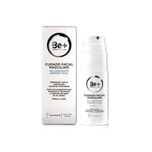 Be+ gel hidratante confort total cuidado facial masculino 50ml