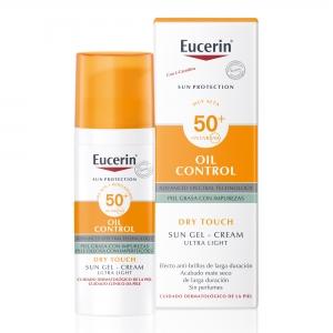 Eucerin solar oil control dry touche SPF50+ 50 ml