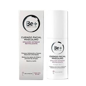 Be+ emulsión antiedad revitalizante cuidado facial masculino 50ml