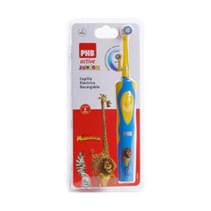 PHB  Active Junior cepillo eléctrico Madagascar azul