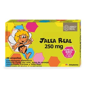 Arko jalea real 250mg 20 ampollas