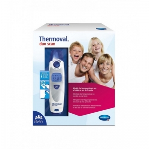 Thermoval termómetro infrarrojo oído y frente