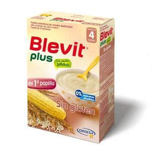 Blevit Plus Sin Gluten efecto bífidus 300gr