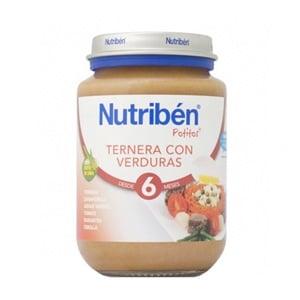 Nutriben junior ternera con verduras 200 gr