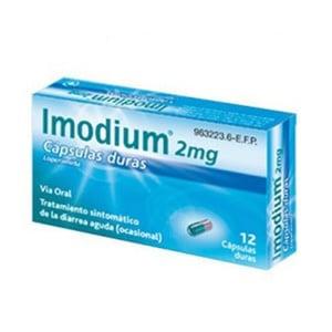 Imodium 2mg 12cáps duras