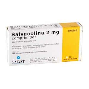 Salvacolina 2mg 12 comprimidos