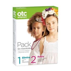 Otc Antipiojos pack sin insecticida