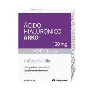 Arko ácido hialuronico 120mg 30cáps