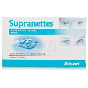 Supranettes toallitas higiene ocular 20uds