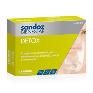 Sandoz bienestar detox 30caps