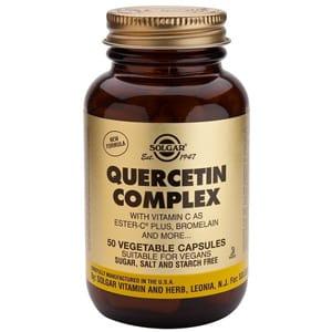 Solgar quercitina complex 100 cápsulas vegetales