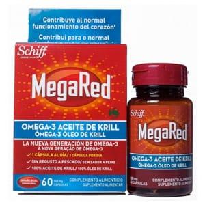 MegaRed Omega 3 aceite de krill 60cáps