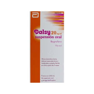 Dalsy 20 mg/ml suspensión oral 200ml
