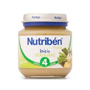 Nutriben bebe inicio a la verdura 130gr