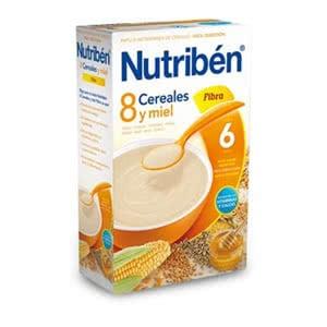 Nutriben 8 cereales miel 300 gr