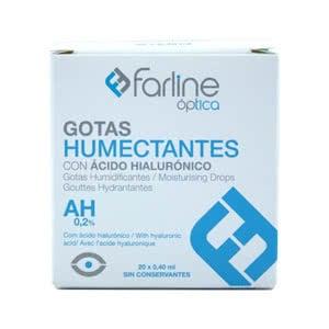 Farline gotas humectantes 20 monodosis de 0,35ml